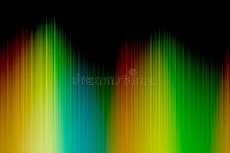 Widma kolorowy tło zdjęcia stock