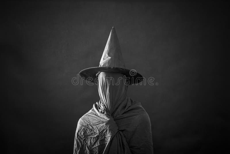 Widmowa postać z długim kapeluszem obraz royalty free