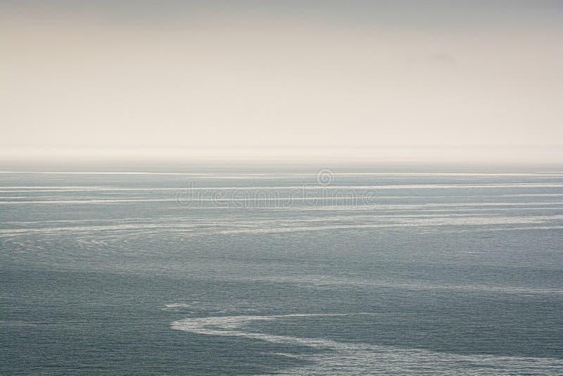 Widoczni strumienie w Czarnym morzu, Trabzon, Turcja zdjęcia royalty free
