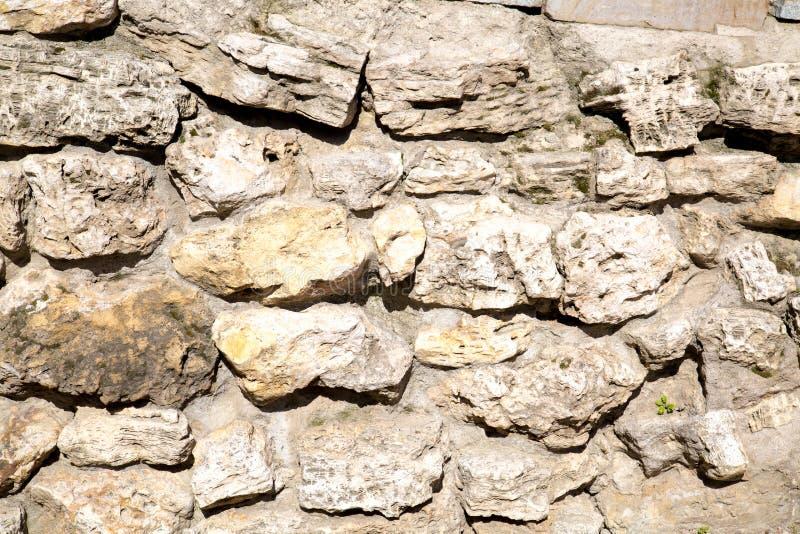 Widok ściana kamienie nieregularnych kształtów tło tekstury dla graficznego projekta fotografia royalty free
