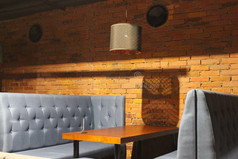 Widok świetlicowa sala Stoły i krzesła z pokrywami 30562 zdjęcie royalty free