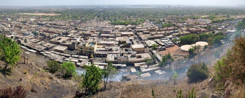 Widok Bamako miasto fotografia royalty free