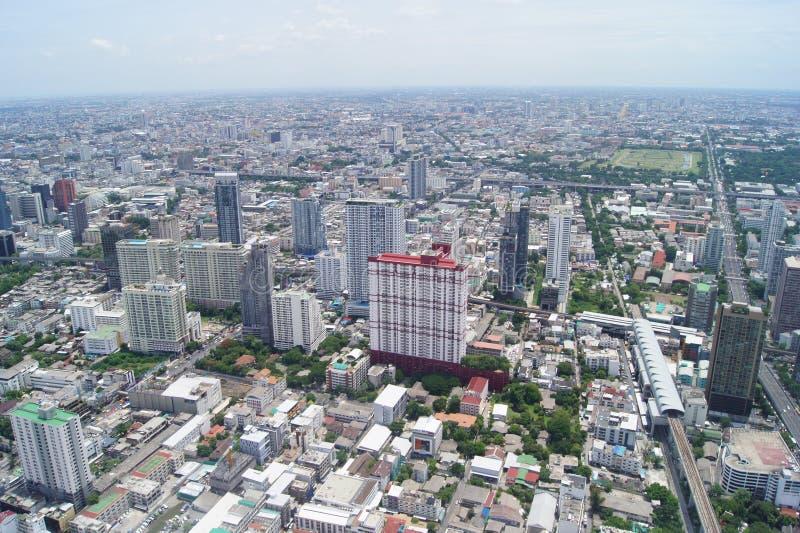 Widok Bangkok od eighty-fourth podłoga zdjęcia stock