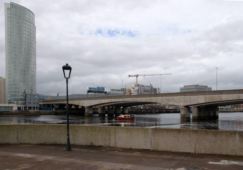 Widok Belfast zdjęcie royalty free