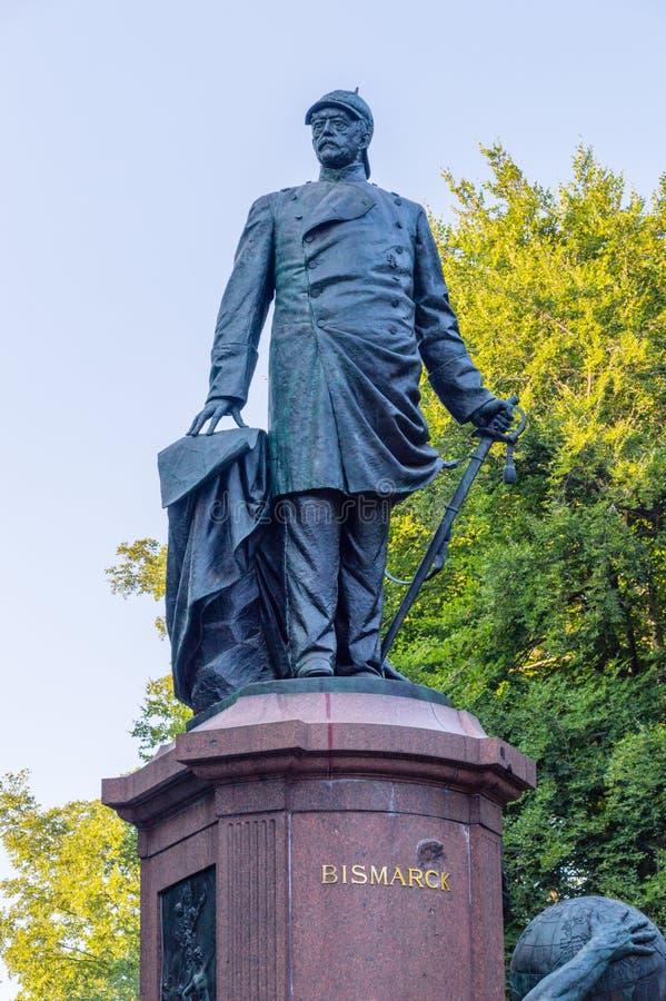 Widok Bismarck zabytek w Berlin obrazy royalty free