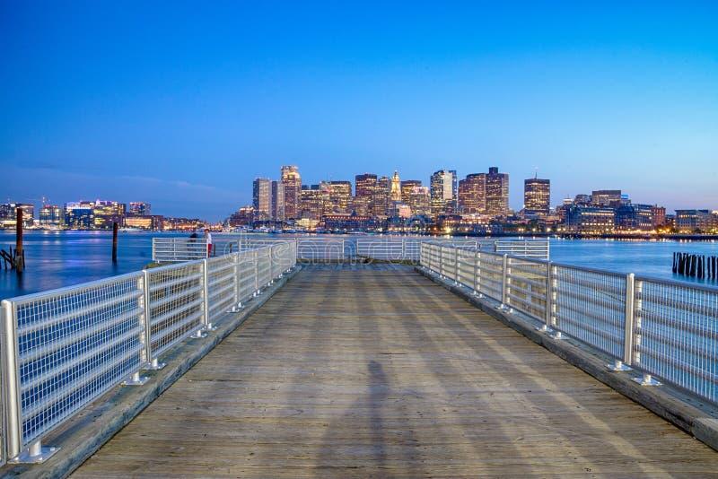 Widok Boston śródmieście, usa obraz stock
