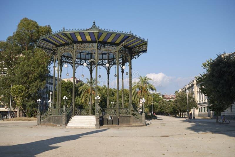 Widok Cassa Armonica w Naples zdjęcia royalty free