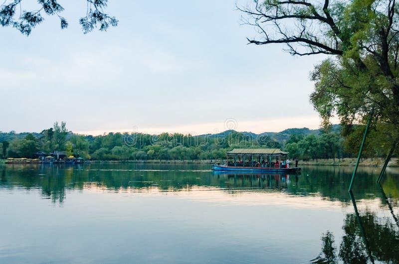 Widok cesarza Kangxi ` s lata Halny kurort w Chengdeï ¼ Œ prowinci hebei, Chiny fotografia royalty free