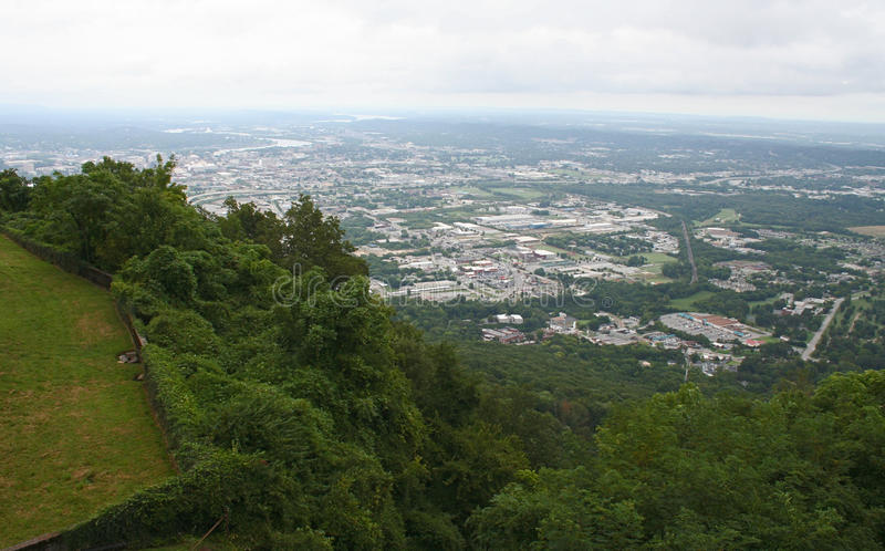 Widok Chattanooga, Tennessee zdjęcie stock