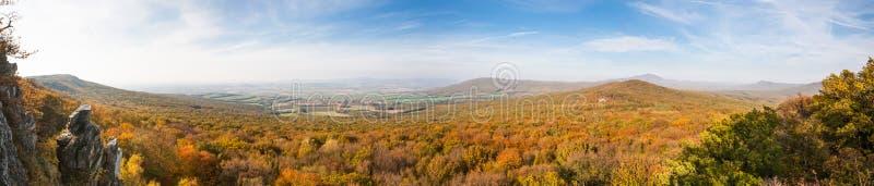Widok colorfull dolina zdjęcie stock