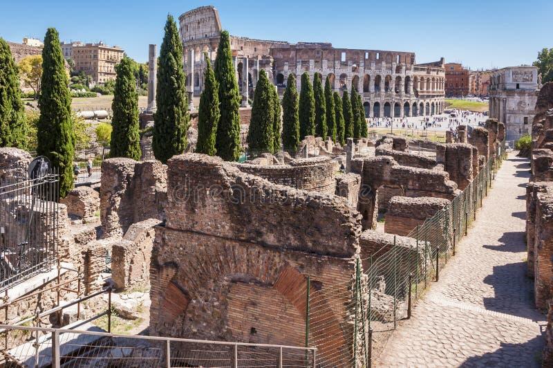 Widok Colosseum obraz stock