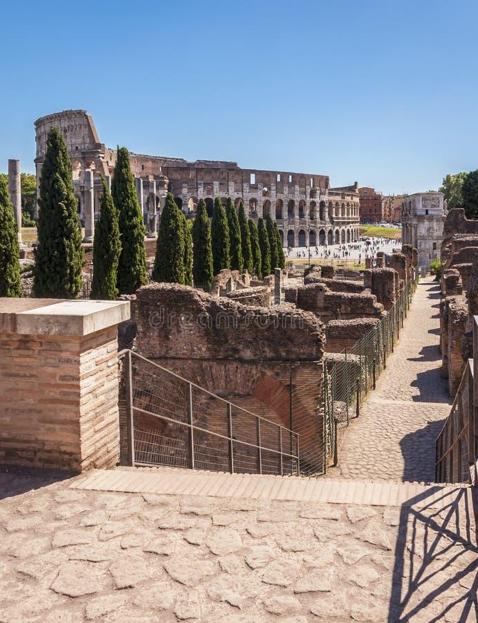 Widok Colosseum obraz royalty free