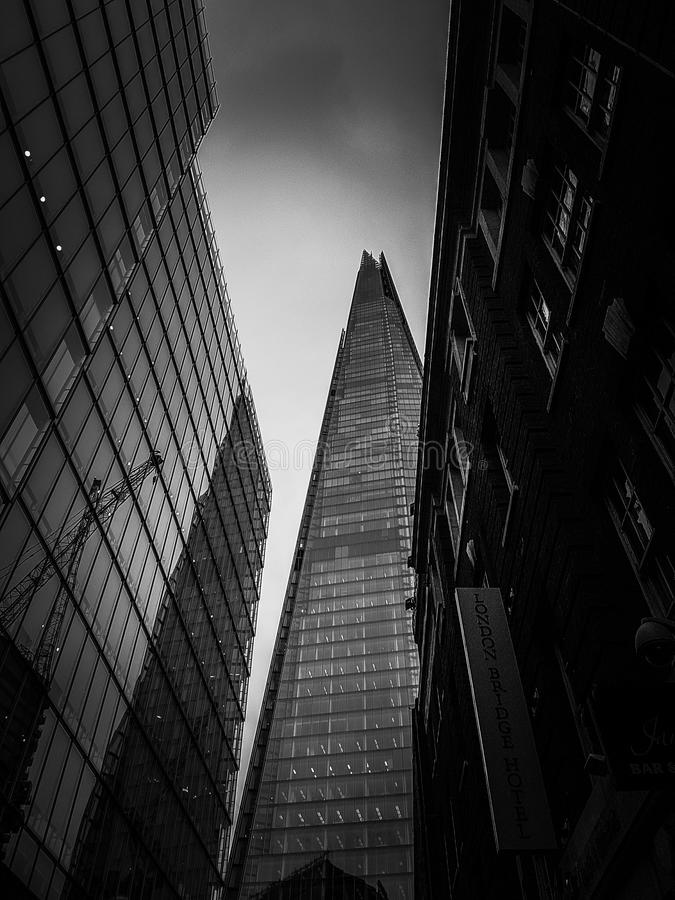 Widok czerep London obrazy royalty free