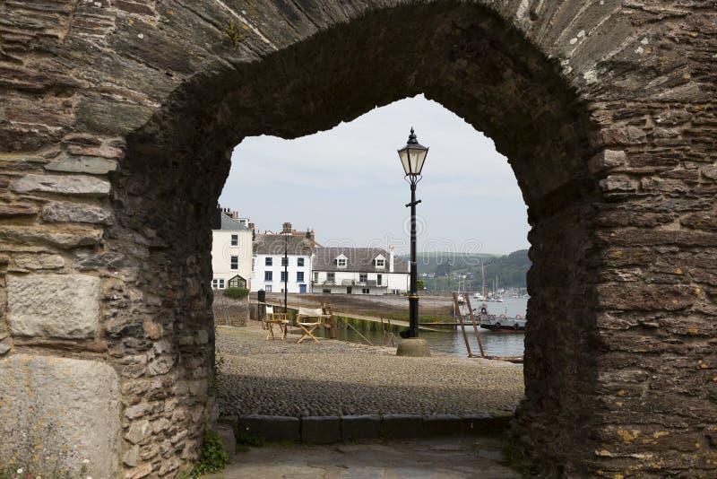 Widok Dartmouth quayside, Devon, UK zdjęcie stock
