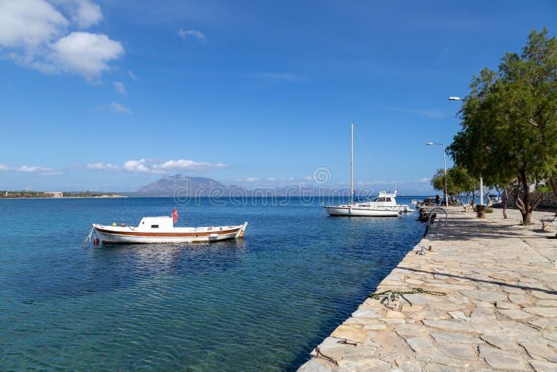 Widok denny wybrzeże w Marmaris, Turcja obrazy stock