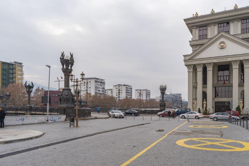 Widok Dimitar Valhov spacer zdjęcie royalty free