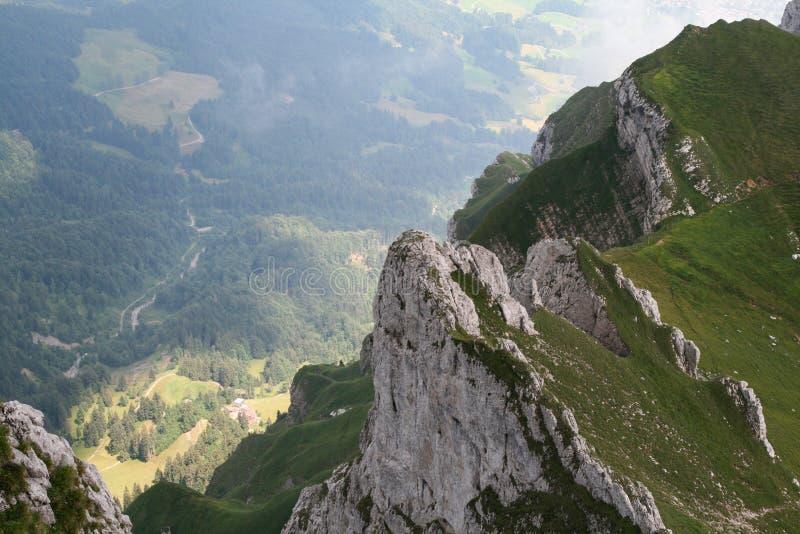 Widok dolina zdjęcie stock