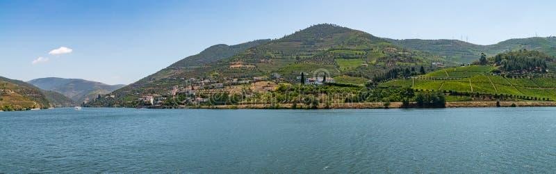 Widok Douro dolina, Portugalia zdjęcie royalty free