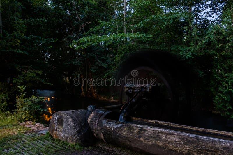 Widok drewniany contraption outdoors obrazy royalty free