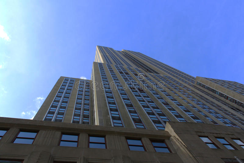 Widok empire state building - Nowy Jork fotografia stock