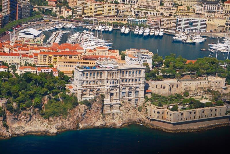 Widok francuski Riviera, Cote d Azur - obrazy royalty free