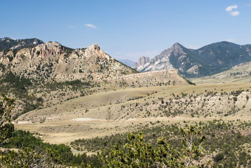 widok górski biel zdjęcia stock