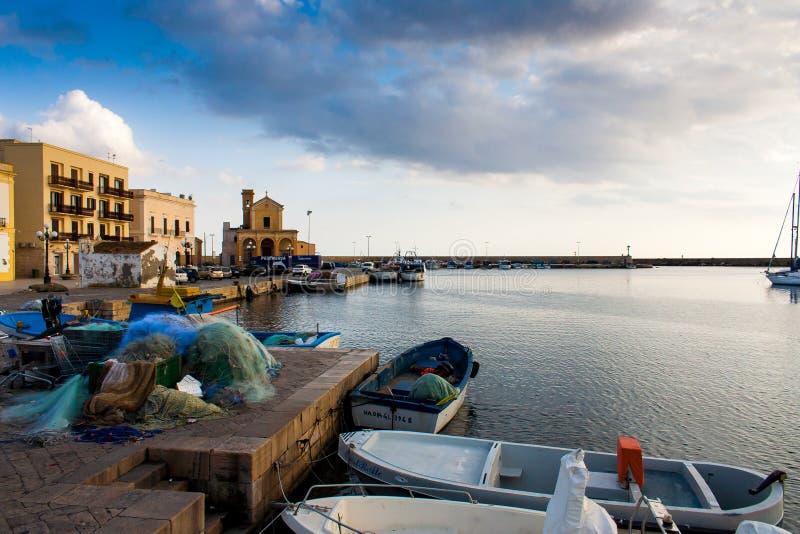 Widok Gallipoli nabrzeże obraz royalty free