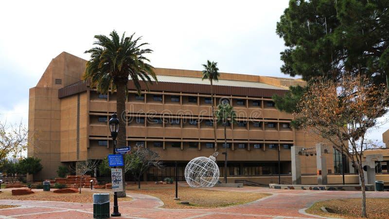 Widok Glendale urząd miasta w Arizona fotografia royalty free