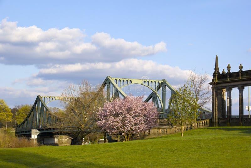 Widok Glienicke most, Potsdam obraz stock