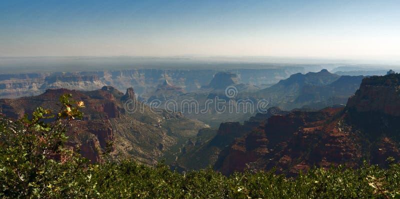 Widok Grand Canyon Północny obręcz, Arizona, usa fotografia royalty free