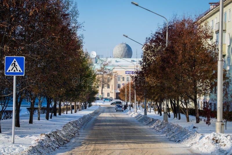 Widok Grigorieva ulica zdjęcia stock