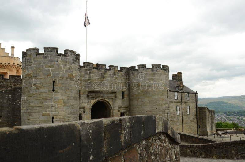 Widok Grodowy wejście obrazy royalty free
