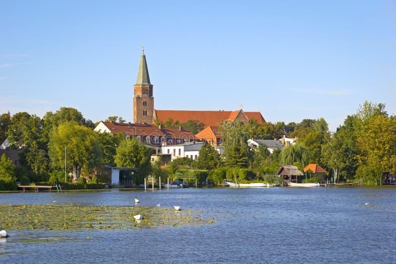 Widok Grodzki Brandenburg zdjęcie stock