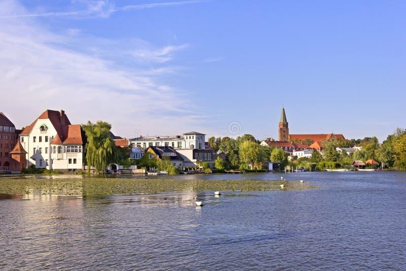 Widok Grodzki Brandenburg obraz stock
