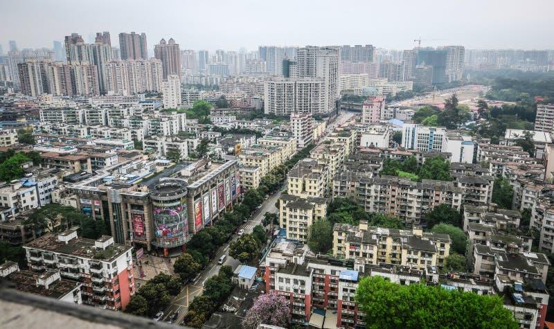 Widok Guangzhou, południe Chiny zdjęcia royalty free