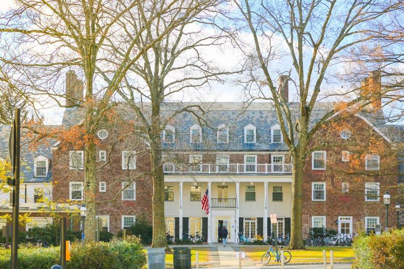 Widok Hamilton jubilery na zewnątrz uniwersytet princeton, obrazy royalty free