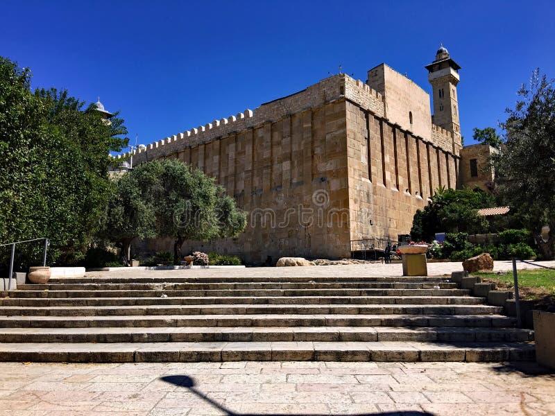 Widok Hebrona w Izraelu zdjęcie stock