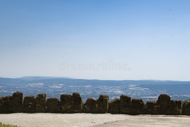 Widok Hercules zabytek przy miastem Kassel w Niemcy obraz stock