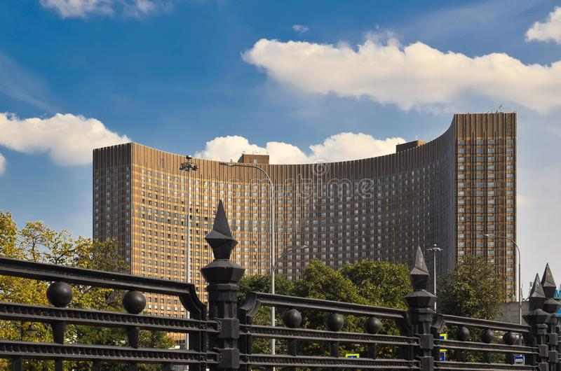 widok hotelowy kosmos obraz stock