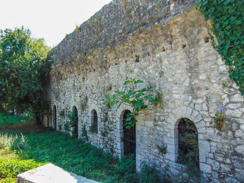 Widok Ioannina kasztel fotografia royalty free