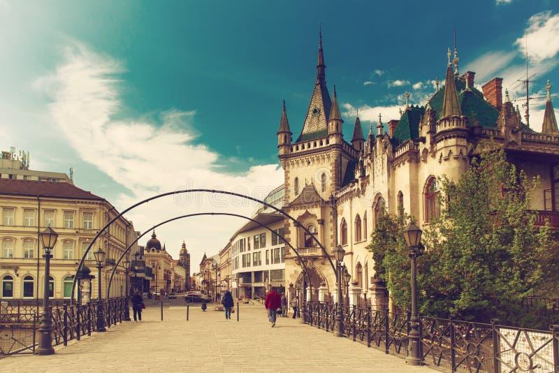 Widok Jakabov pałac fotografia royalty free