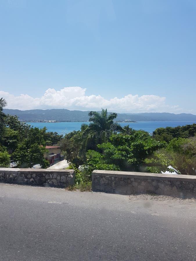Widok Jamaica zdjęcie royalty free