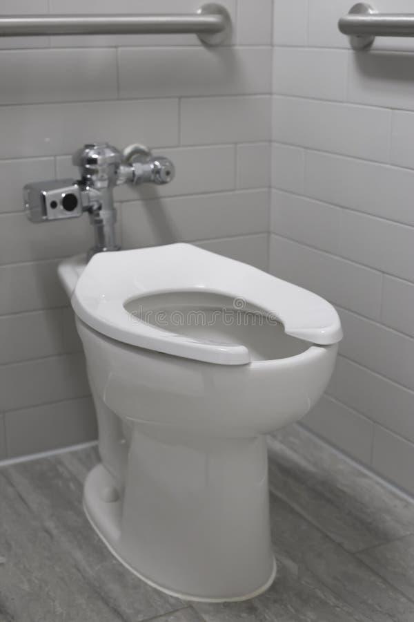Widok Jawna toaleta w kramu fotografia royalty free