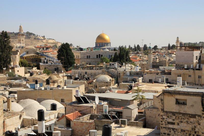 widok jerusalem obrazy royalty free