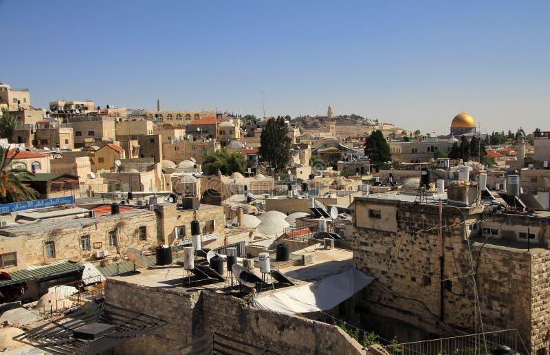 widok jerusalem zdjęcia stock