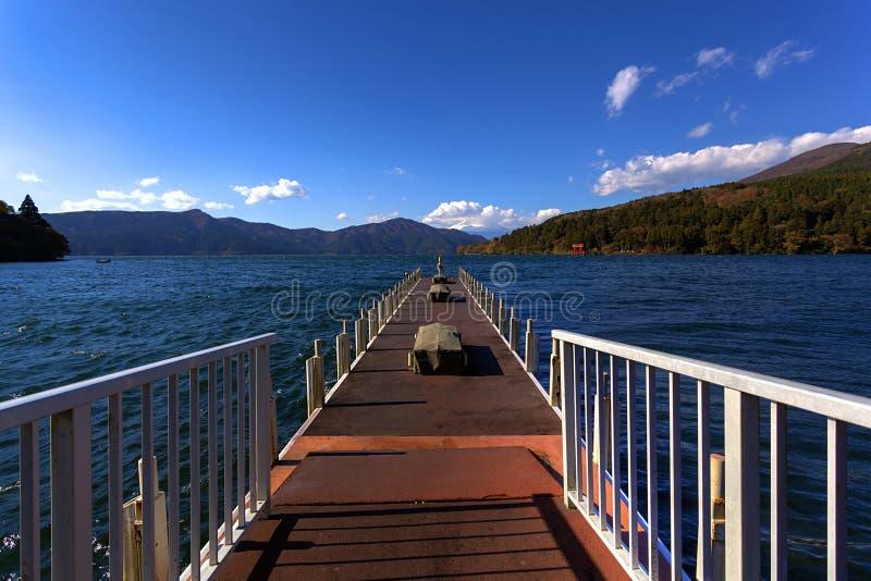Jeziorny Ashi Japonia zdjęcie stock