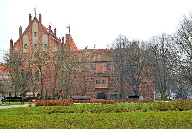 Widok kędziorek Teutoński rozkaz Polska, Kentshin zdjęcia stock