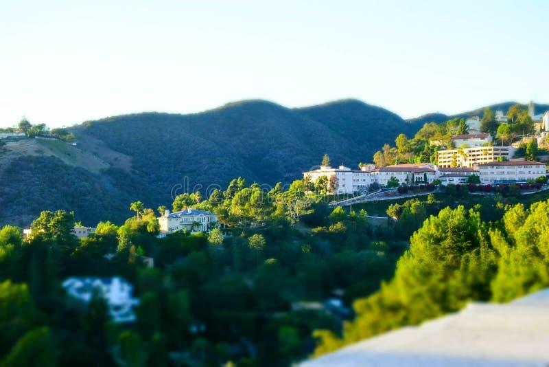 Widok Kalifornia wzgórza obraz royalty free