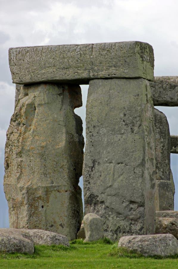 Widok kamieni bloki Przy Stonehenge, Anglia zdjęcia stock