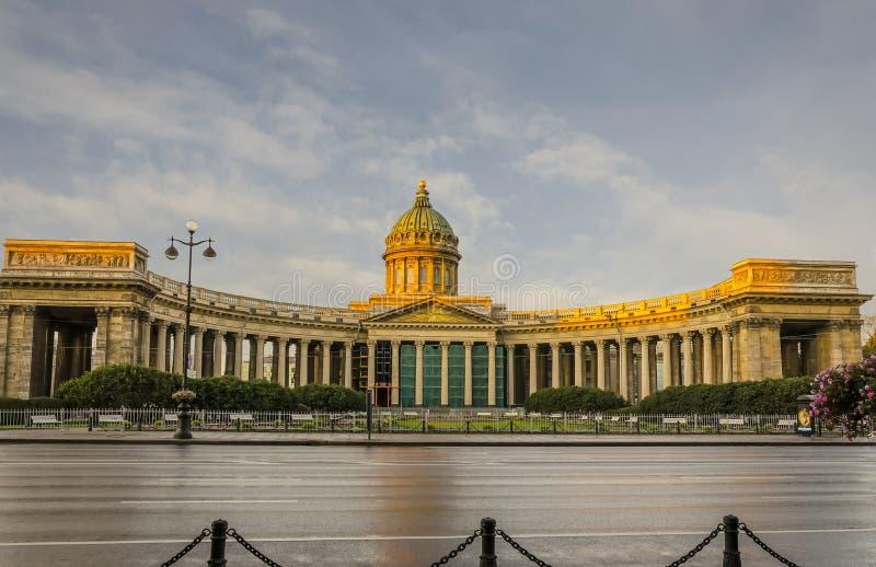 Kazan katedra obrazy royalty free